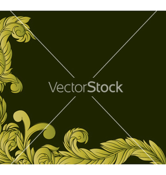 Free vintage floral background vector - Kostenloses vector #246149