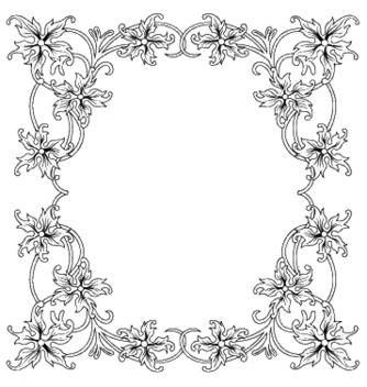 Free floral frame vector - Kostenloses vector #246289