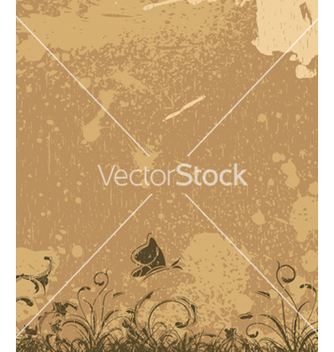 Free vintage floral background vector - vector #246419 gratis