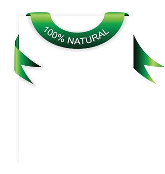 Free green banner with paper vector - vector gratuit #247079
