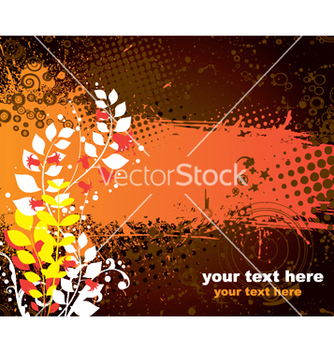 Free summer floral background vector - Free vector #247869