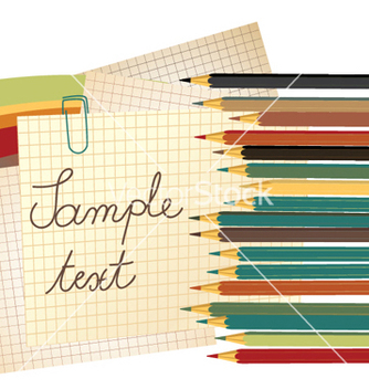 Free coloured pencils vector - Free vector #248159