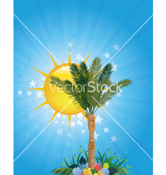 Free summer background vector - Free vector #248199