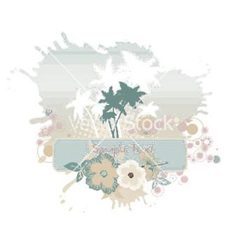 Free grunge summer vector - Kostenloses vector #248809