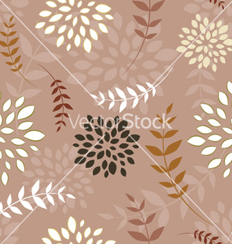 Free floral seamless pattern vector - Free vector #249119