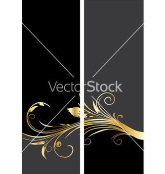 Free vintage gold banner vector - Free vector #249149