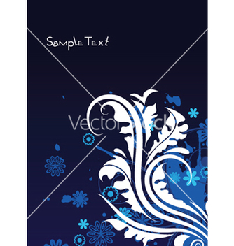 Free vintage floral background vector - Free vector #249189