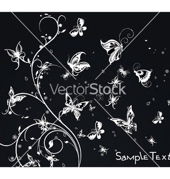 Free spring floral background vector - Free vector #249519