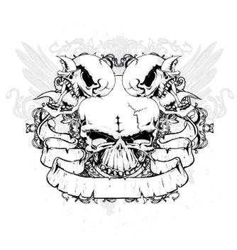 Free vintage emblem vector - Kostenloses vector #249739