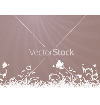 Free rays with floral vector - Free vector #249919