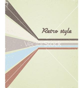 Free retro poster vector - vector #250569 gratis