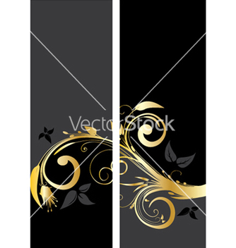 Free vintage gold banner vector - Free vector #250749