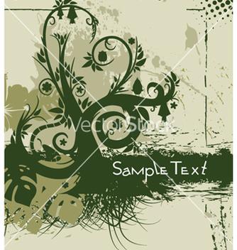 Free vintage floral background vector - Free vector #250819