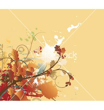 Free vintage floral vector - Kostenloses vector #250859