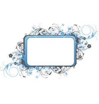 Free floral frame vector - Kostenloses vector #251489