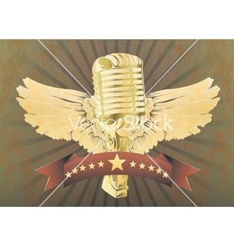 Free music emblem vector - Kostenloses vector #251639