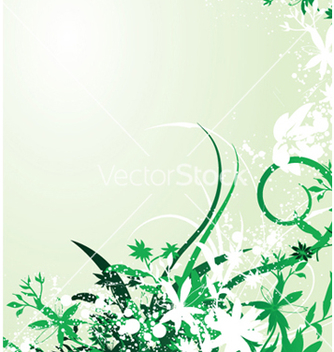 Free abstract spring floral background vector - Free vector #252059