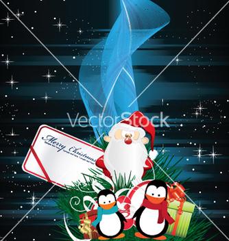 Free christmas greeting card vector - Kostenloses vector #252229
