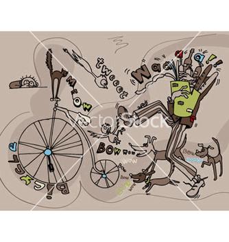 Free funny doodles vector - Kostenloses vector #252299