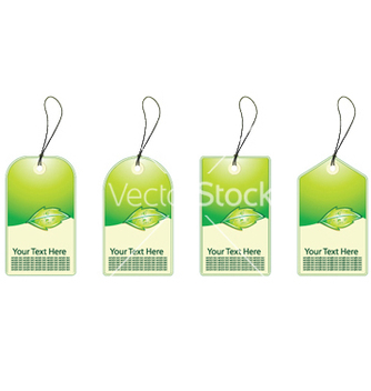 Free eco shopping tags vector - Free vector #252309