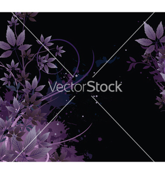 Free splash floral background vector - vector gratuit #252509