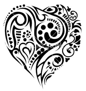 Free tatoo heart vector - Free vector #252539