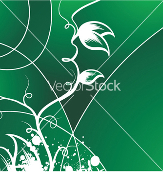 Free splash floral background vector - vector #252699 gratis