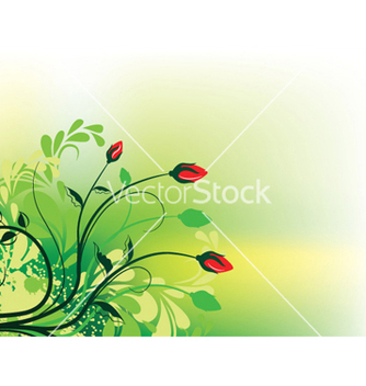 Free splash floral background vector - Free vector #252839