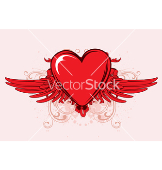 Free valentine emblem vector - Free vector #253209