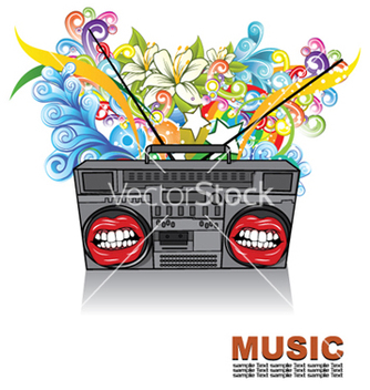 Free concert poster vector - Free vector #253259