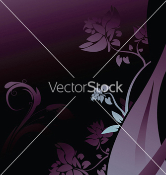 Free abstract floral background vector - Free vector #253729