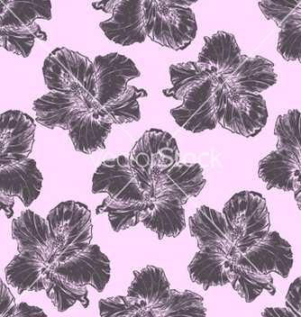 Free vintage floral pattern vector - Free vector #254119