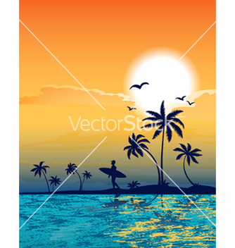 Free summer background vector - бесплатный vector #254569