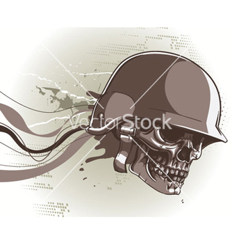 Free skull with abstract background vector - Kostenloses vector #254619