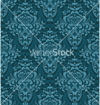 Free damask seamless background vector - Free vector #254759