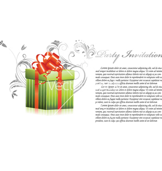 Free gift box vector - Kostenloses vector #255009