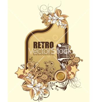 Free retro frame vector - Free vector #255379