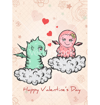 Free valentines background vector - Free vector #255729