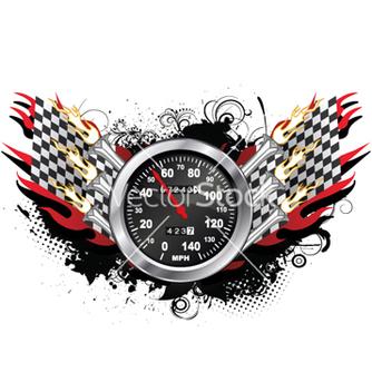 Free speedometer emblem vector - Free vector #255919