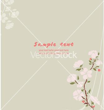 Free spring floral background vector - Kostenloses vector #255989