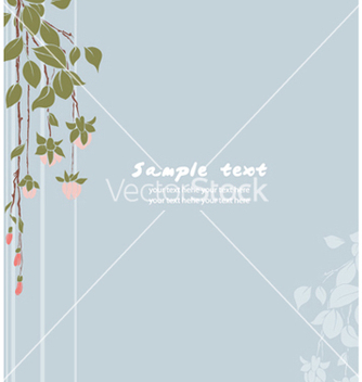 Free spring floral background vector - Free vector #256019