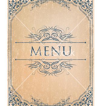 Free vintage menu vector - Kostenloses vector #256209