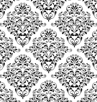Free damask seamless pattern vector - Free vector #256289