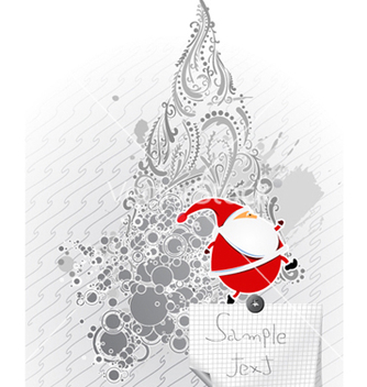 Free christmas greeting card vector - бесплатный vector #256559