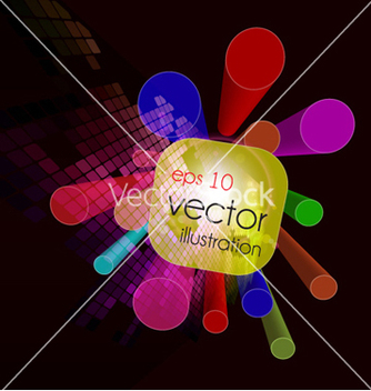 Free 3d colorful background vector - Free vector #256809