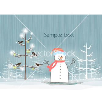 Free christmas background vector - Free vector #256979