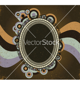 Free retro background with circles vector - бесплатный vector #257049
