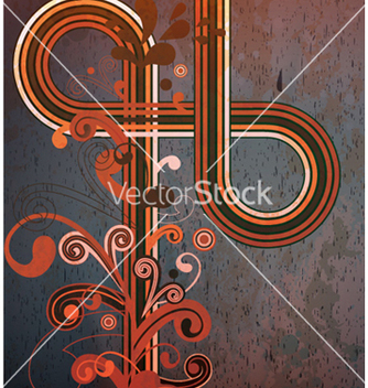 Free grunge retro background vector - Free vector #257209