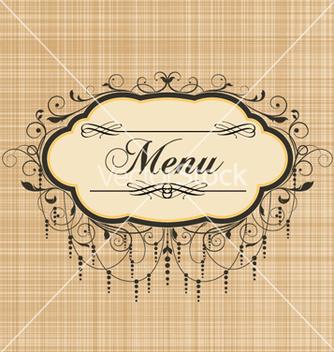Free vintage menu vector - Free vector #257289