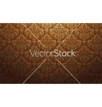 Free damask wallpaper vector - Free vector #257299